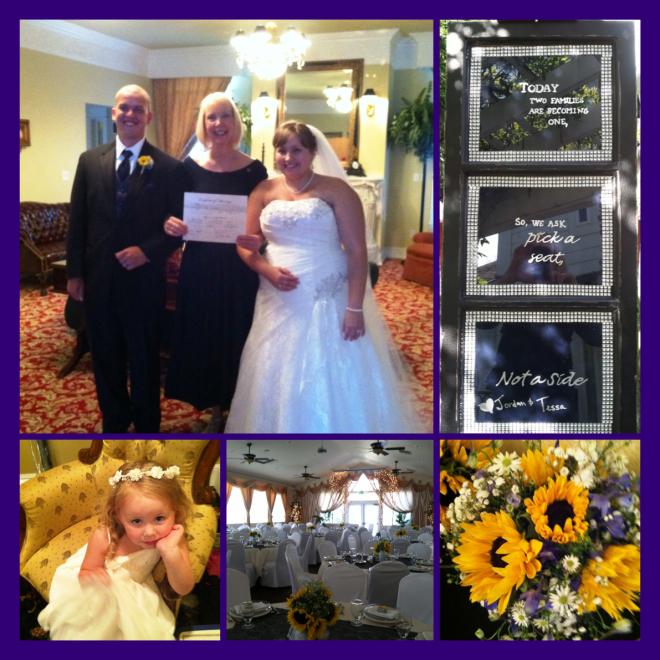 wedding Jordan and Tessa