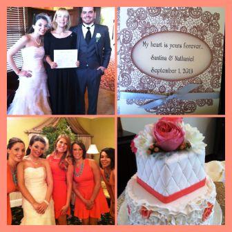 wedding Santina and Nate