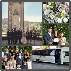 Cathedral Park wedding